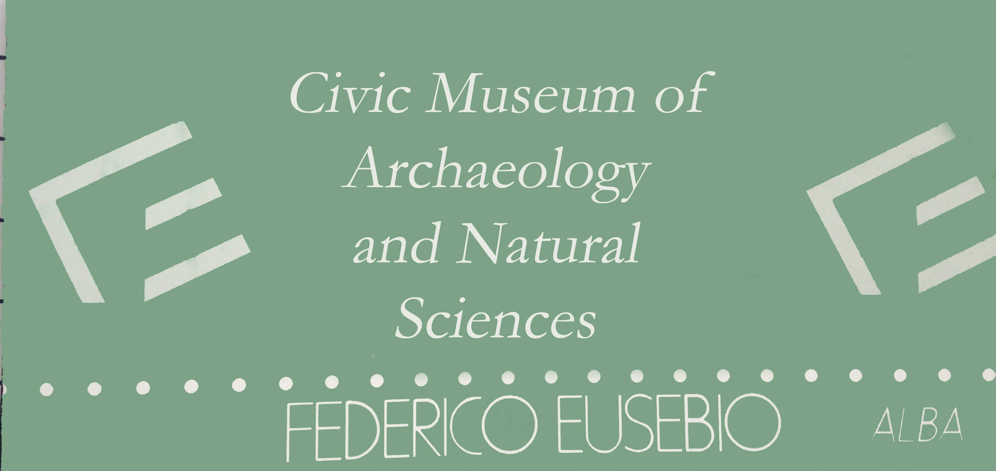 Federico Eusebio Civic Archaeological Museum in Alba